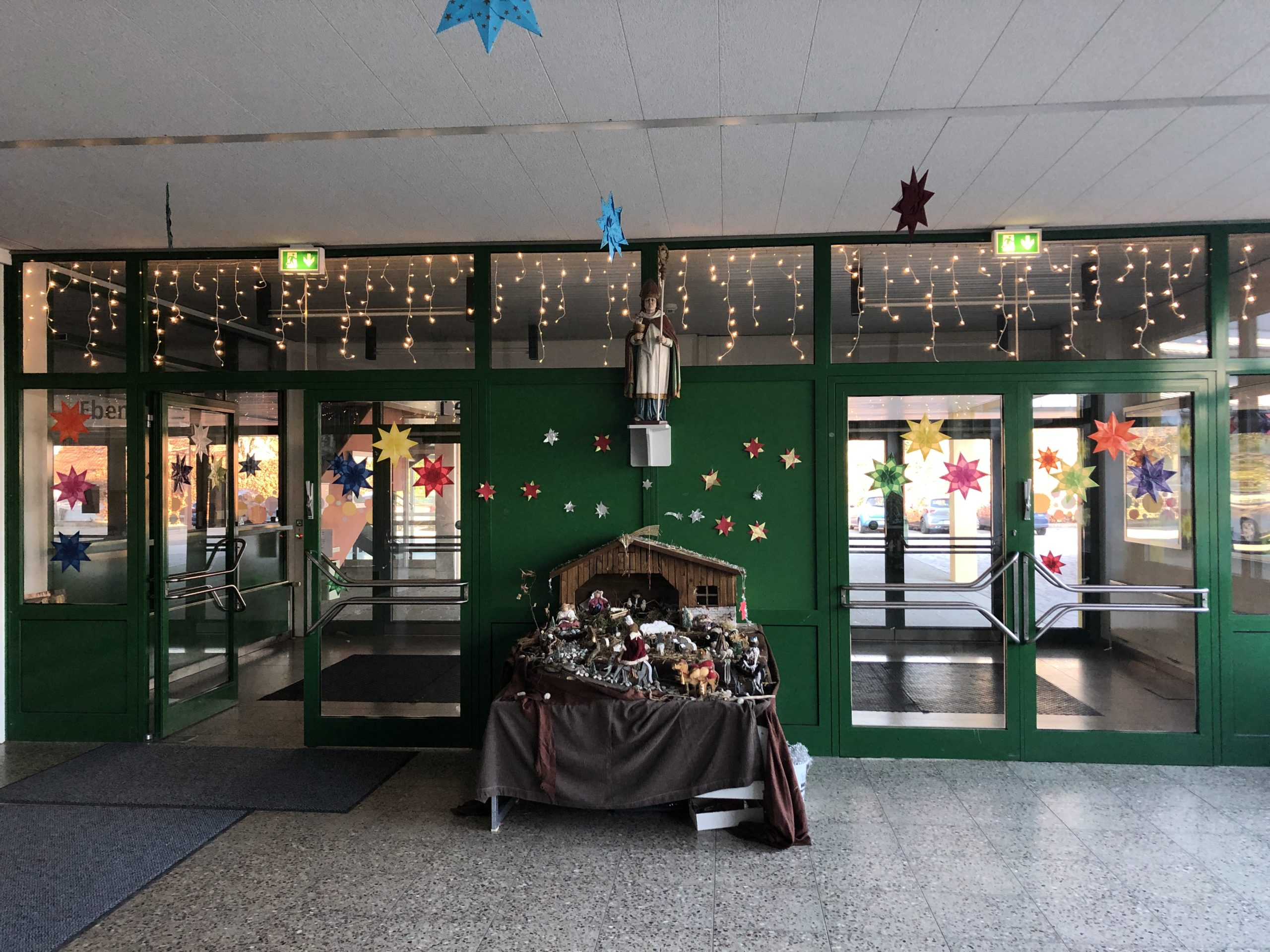 Advent in der Aula